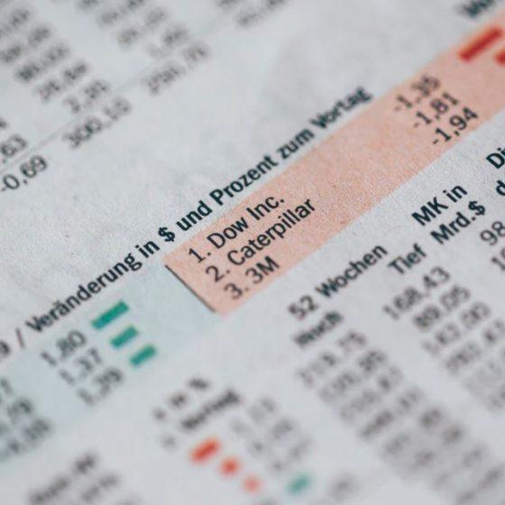 aandelen overzicht