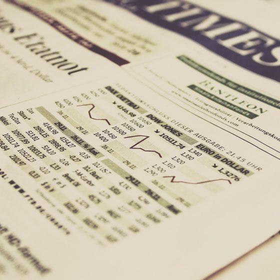 aandelenportfolio krant