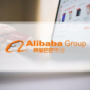 Zeer kleine aankoop Alibaba Group